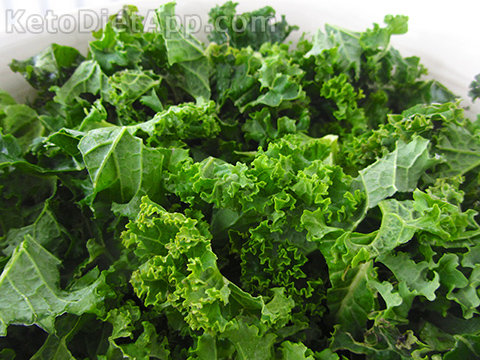 I used Curly Kale in this recipe. Other types such as Lacinato Kale or even the outer leaves of Savoy Cabbage work well, too!