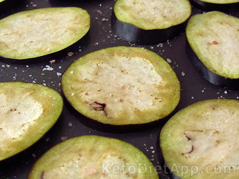 Low-Carb Rosemary & Garlic Eggplant Chips