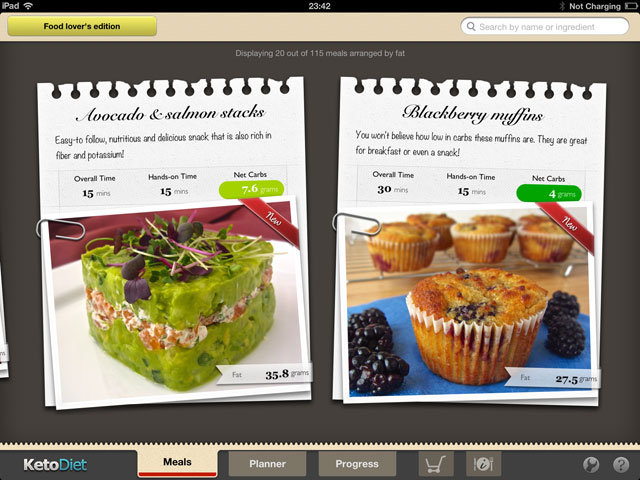 KetoDiet for iPad - New version coming soon!