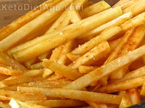 """Low-Carb """"French Fries"""""""