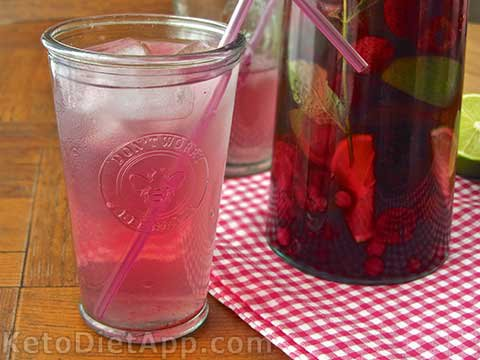 "Summer Iced Berry ""Lemonade"""