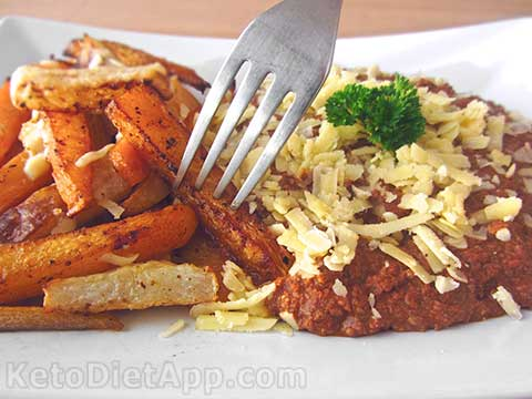 |Low-Carb Chili Cheese Fries