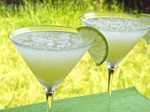 Low-Carb Daiquiri Cocktail