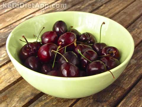 Dark Cherry Chia Jam
