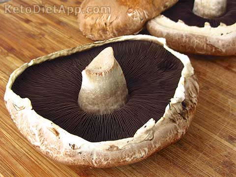 Low-Carb Italian Baked Mushrooms