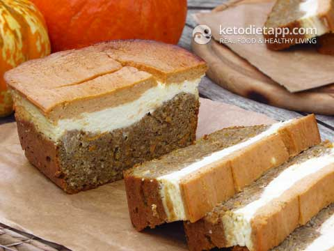 Low-Carb Pumpkin & Orange Cheese Bread