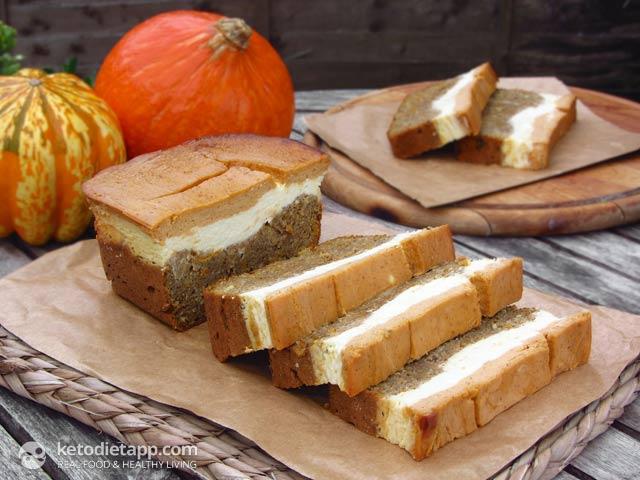 Pumpkin & Orange Cheese Bread | The KetoDiet Blog