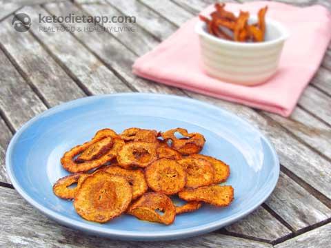 Chips & Crisps: Spiced Butternut Chips