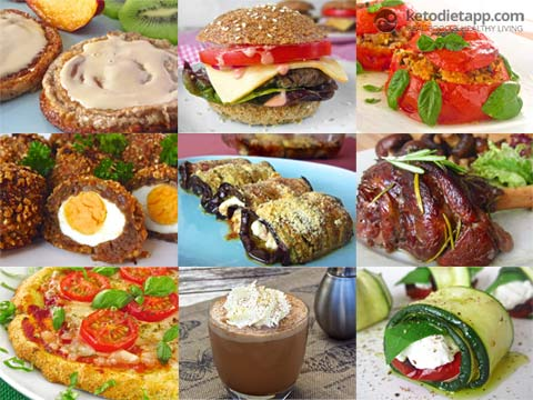 KetoDiet Recipes (iPad, iPhone and Kindle)