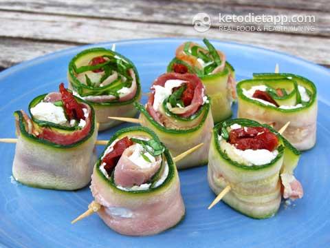 Italian-Style Zucchini Rolls