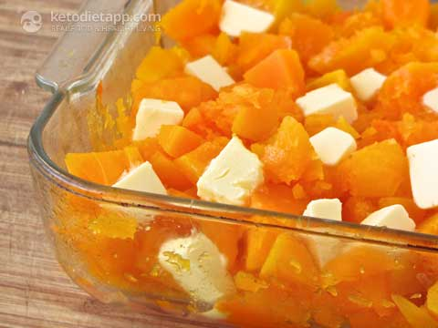 "Low-Carb Candied ""Yams"" with Marshmallows"