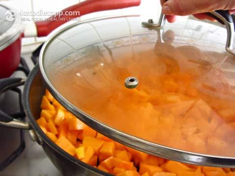 Pumpkin & Beef Sautée
