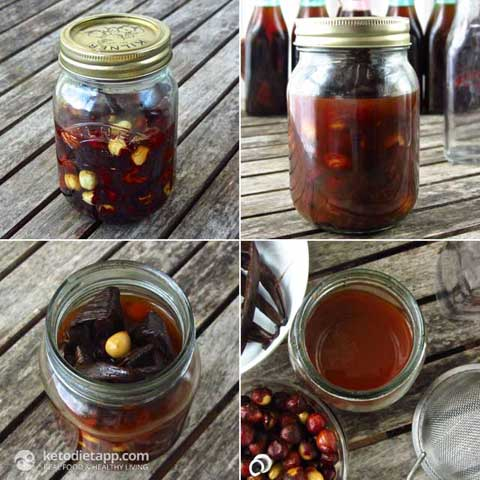 Homemade Hazelnut Extract (Hazelnut Liqueur)