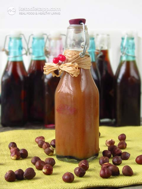 Homemade Sugar-Free Hazelnut Extract