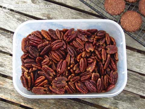 Keto Chocolate & Pecan Cookies and Benefits of Soaking Nuts