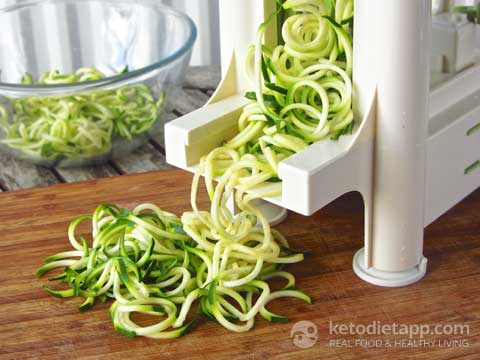 "|Quick Beef Ragù with ""Zoodles"""