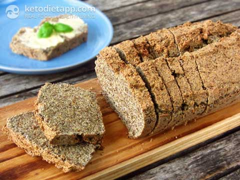 "Low-Carb ""Rye"" Bread"