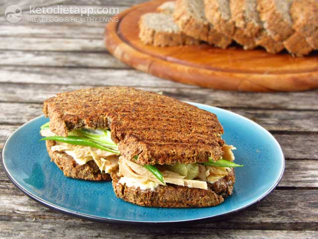Ben 39 s low carb rye bread the ketodiet blog for Low carb fish breading