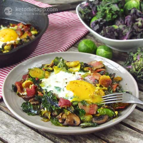 |Brussels Sprout and Bacon Hash & Are Brussels Sprouts Keto-Friendly?
