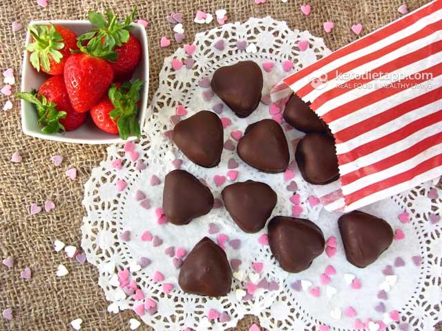 Healthy Valentine Hearts