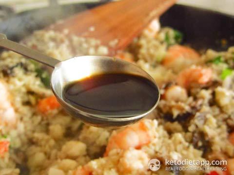 Keto Egg Fried Rice