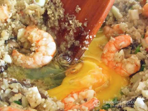 |Keto Egg Fried Rice