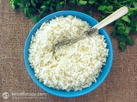 Cauli-rice (KetoDiet)