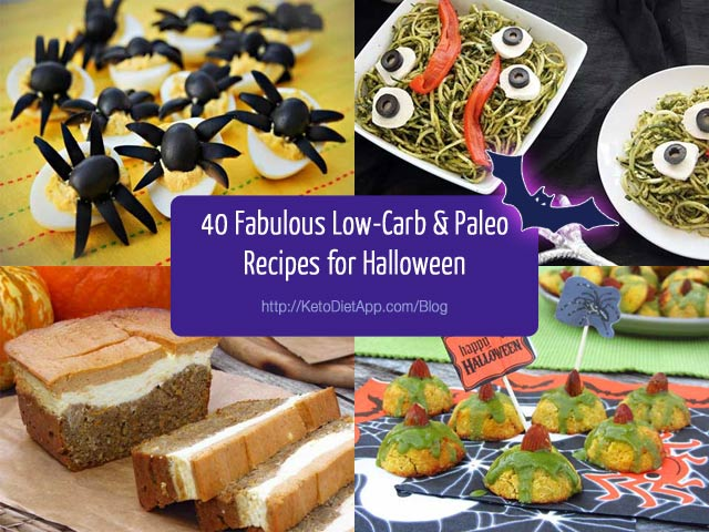40+ Fabulous Low-Carb & Paleo Recipes for Halloween