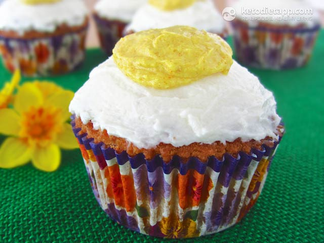 |Keto Easter Cupcakes