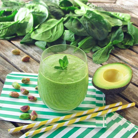 Low-Carb Shamrock Protein Smoothie