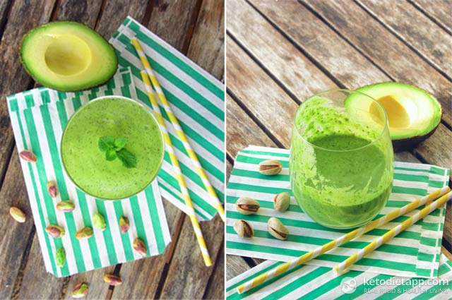 Leprechaun Protein Smoothie
