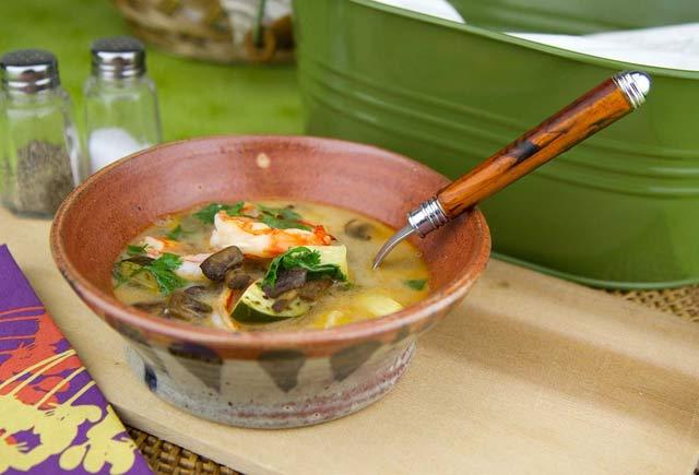 Thai Hot and Sour Shrimp Soup