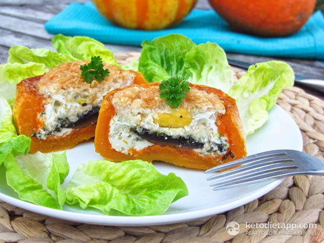 Low-Carb Baked Butternut Cups
