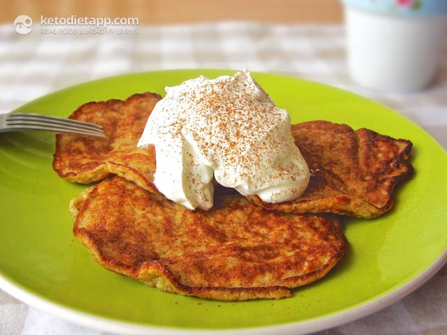 Spiced Banana Pancakes: Perfect Pre/Post-workout Meal | The KetoDiet Blog