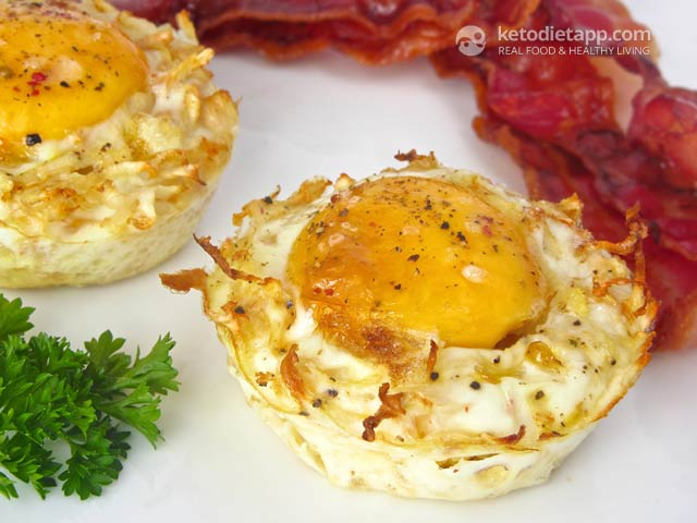 Low-Carb Egg & Celeriac Nests