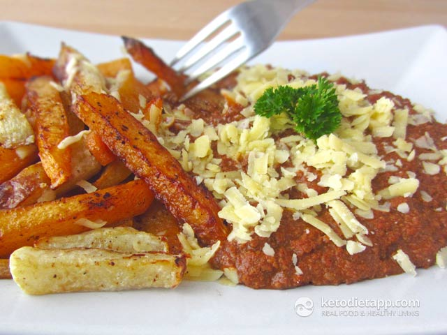 Low-Carb Chili Cheese Fries
