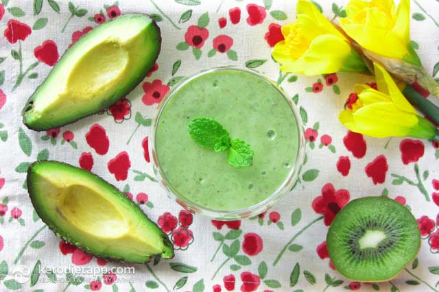 Low-Carb Easter Smoothie | The KetoDiet Blog