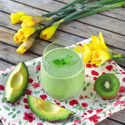 Creamy Low-Carb Easter Smoothie