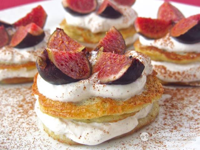 Fig & Cinnamon Pancakes