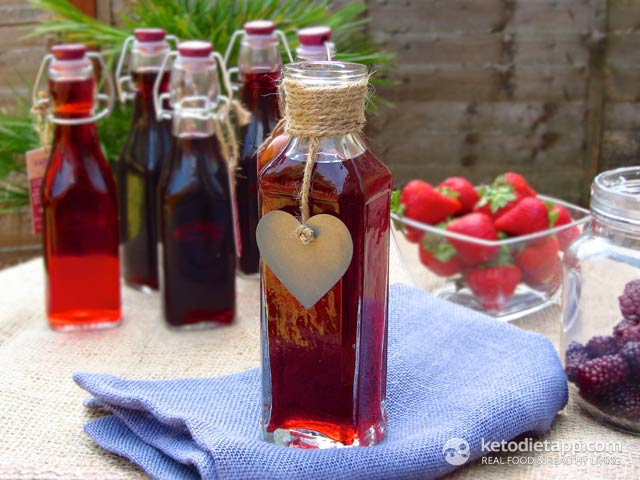Homemade Sugar-Free Fruit Vinegar