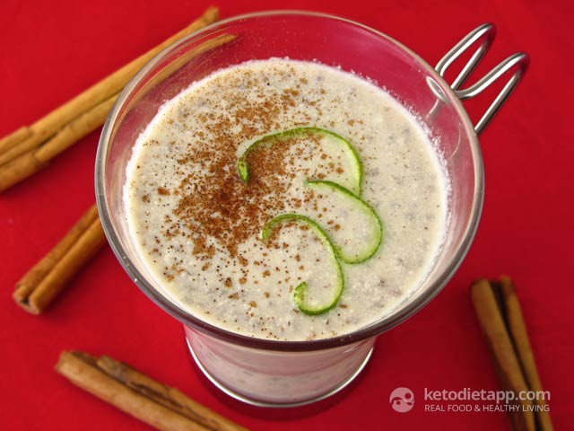 Keto Mexican Horchata Smoothie