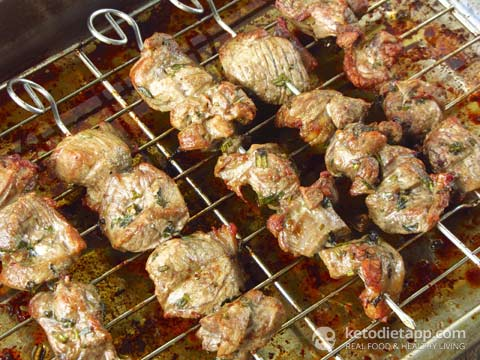 |Lamb Souvlaki (Greek Lamb Skewers)