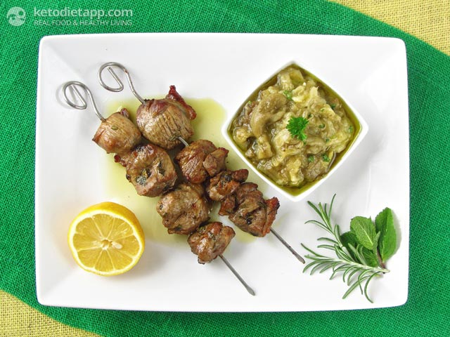Lamb Souvlaki (Greek Lamb Skewers)