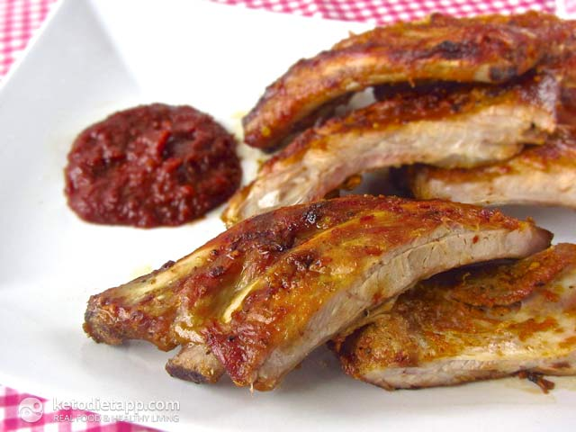 Low-Carb BBQ Pork Ribs