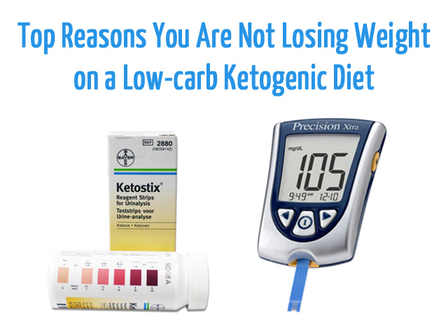 Not Losing Weight on a Low-Carb Ketogenic Diet? Don't Give Up and Read Further