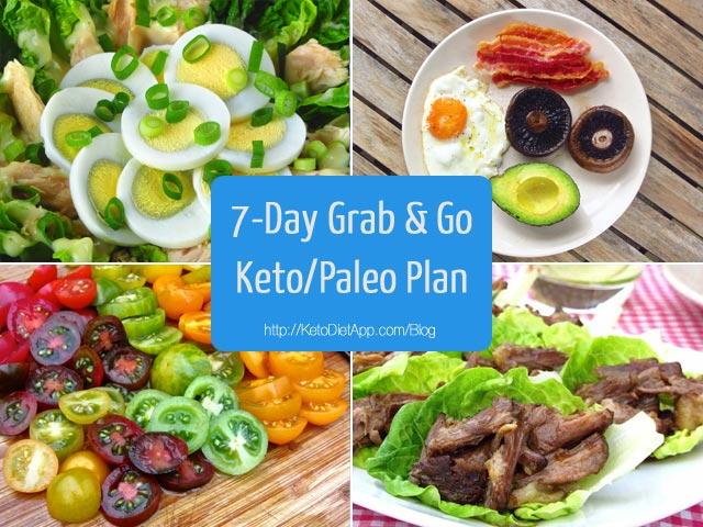 7-Day Grab & Go Keto/Paleo Diet Plan | The KetoDiet Blog