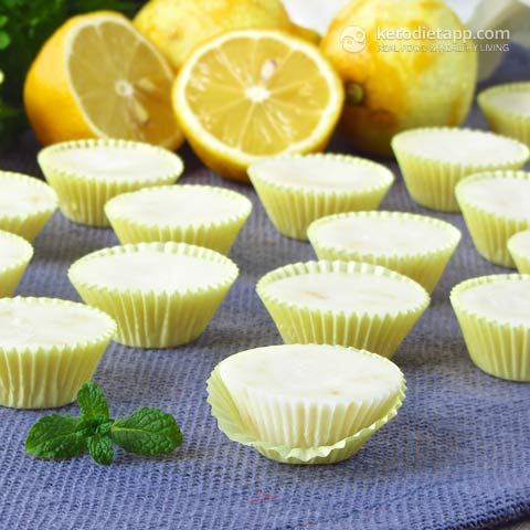 Easy Lemon Fat Bombs