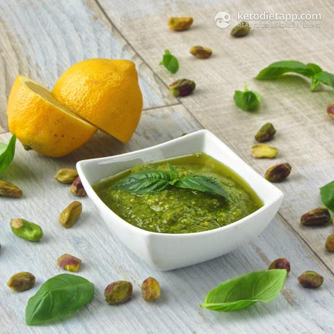 Easy Homemade Avocado Pesto