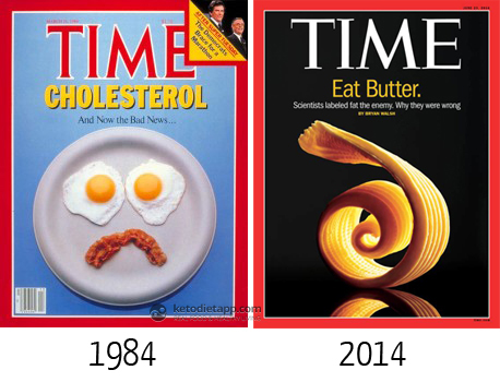 Time magazine 30 years ago and now