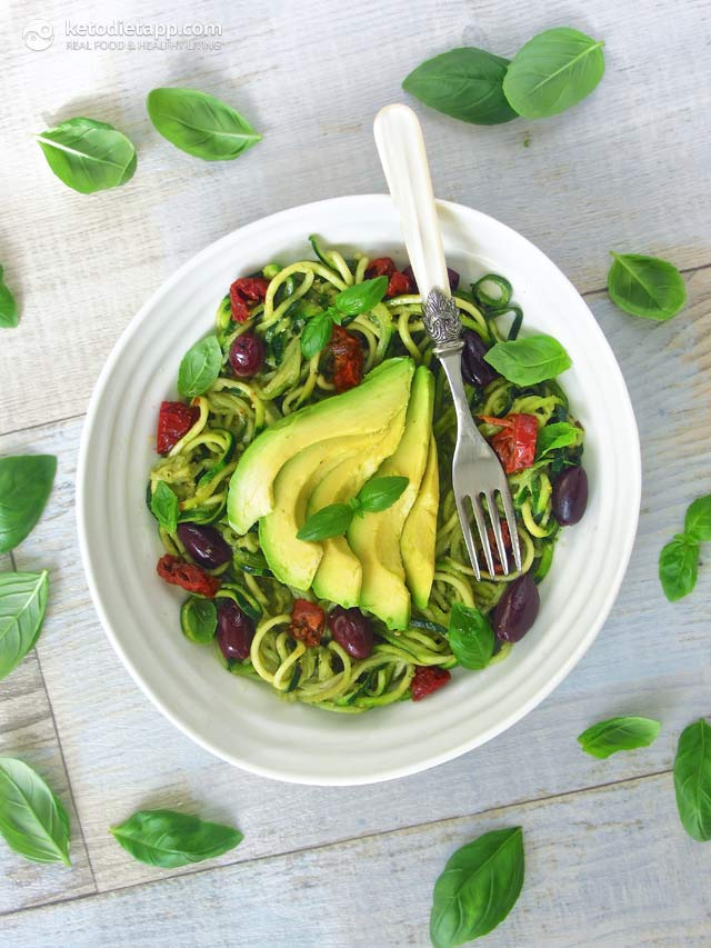 "Keto Vegan ""Zoodles"" 